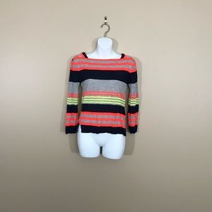 Marc by Marc Jacobs Striped 3/4 Sleeve Top